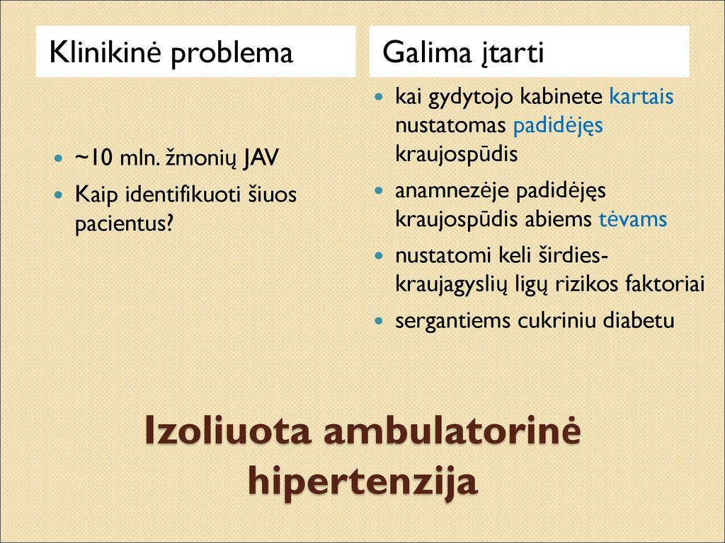 2 hipertenzijos rizikos grupė