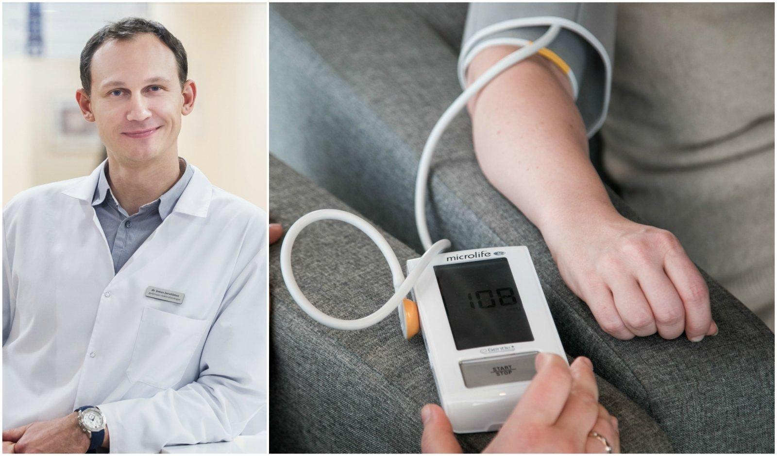 hipertenzija kaip gydyti dietą