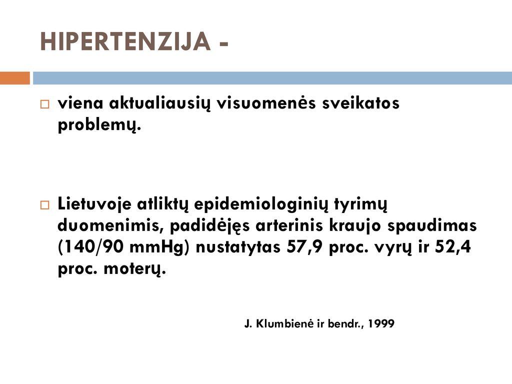 hipertenzija 2 laipsnio 2 stadija