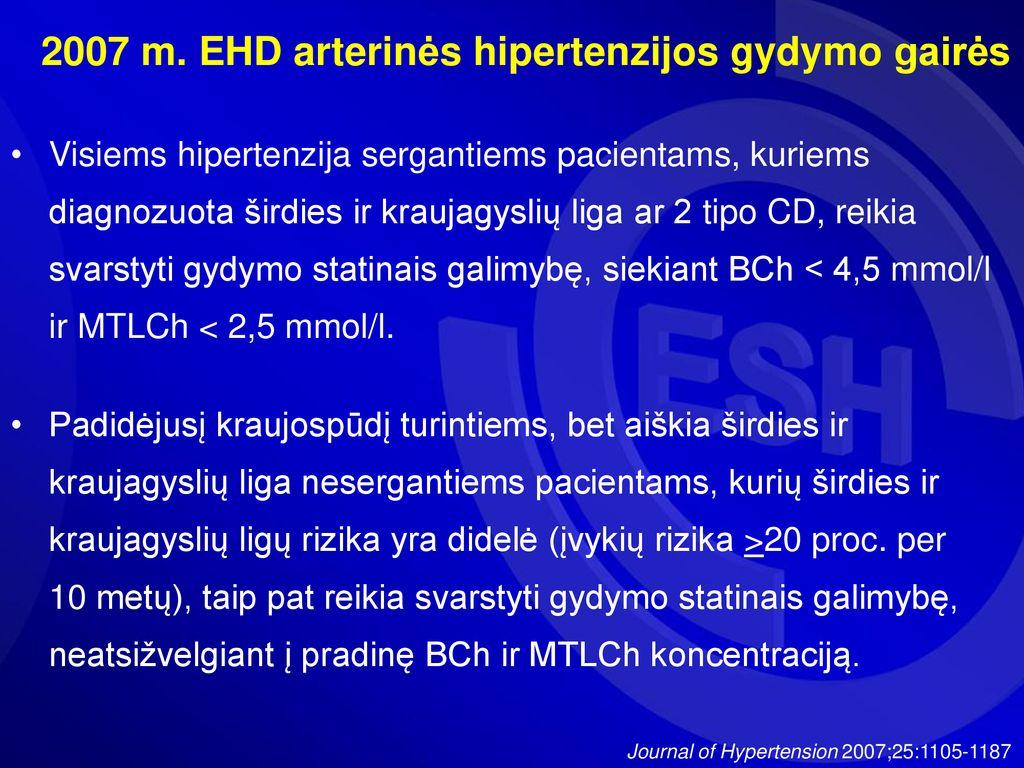 2 hipertenzijos diagnozė 2