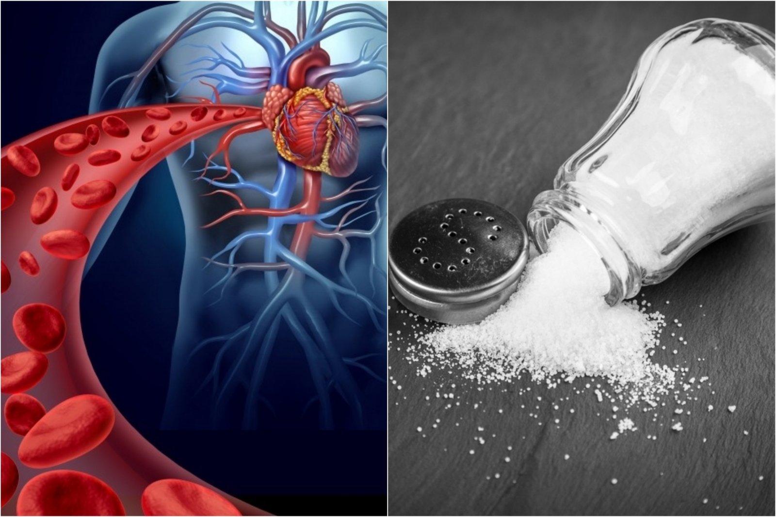druskos norma per dieną sergant hipertenzija