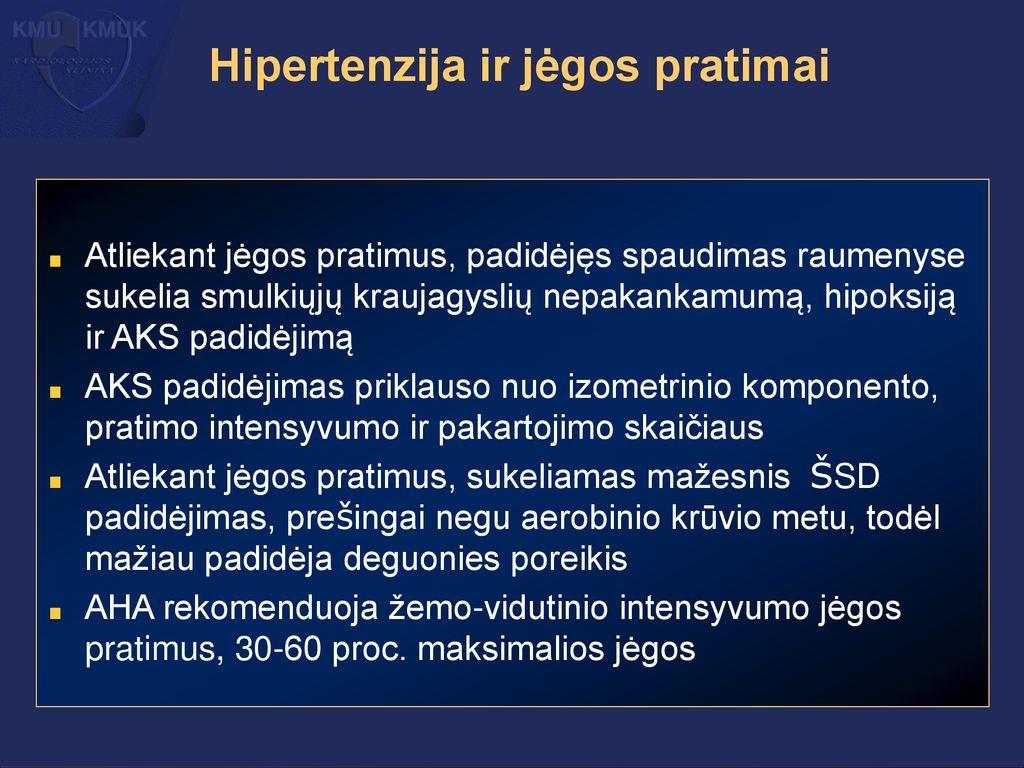 hipertenzijos sakinys hipertenzija gydomi vaistai lorista