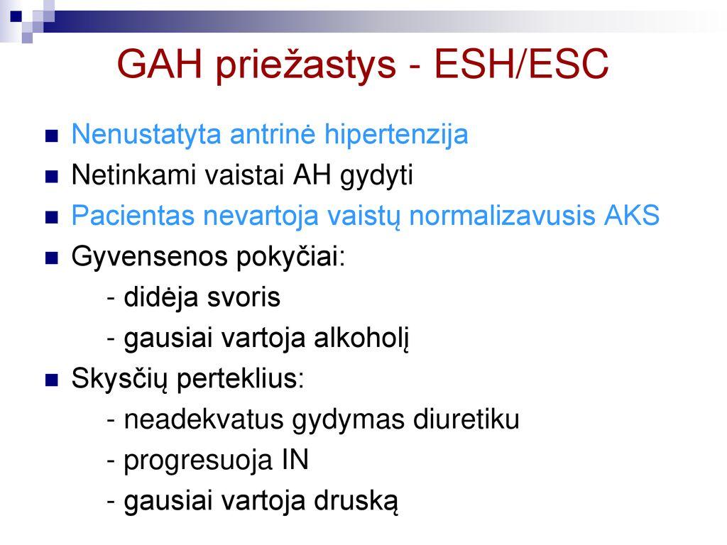 hipertenzijos laipsnio gydymas vaistais 1 stadijos hipertenzija, 1 laipsnis