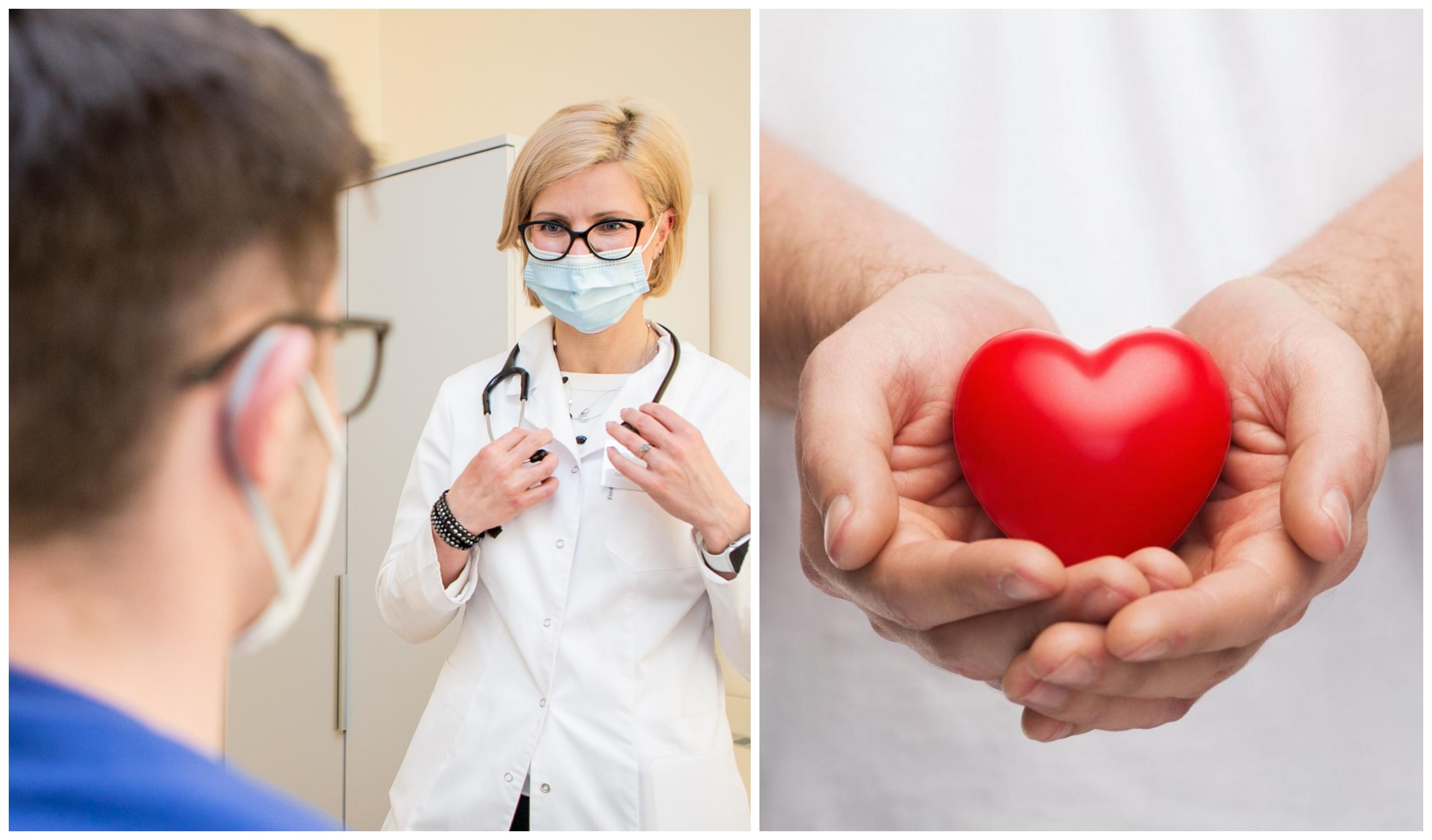 hipertenzija kardiogramoje