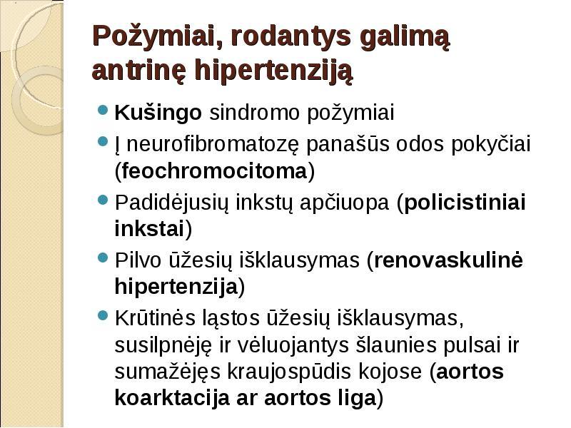inkstų parenchiminė hipertenzija