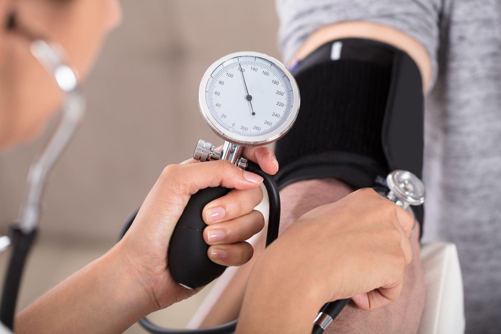 tyrimas hipertenzijai nustatyti hipertenzijos diagnozė jauniems žmonėms