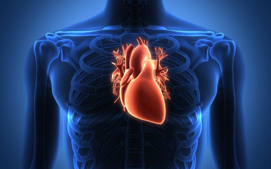 stazinis širdies nepakankamumas ir dantų sveikata