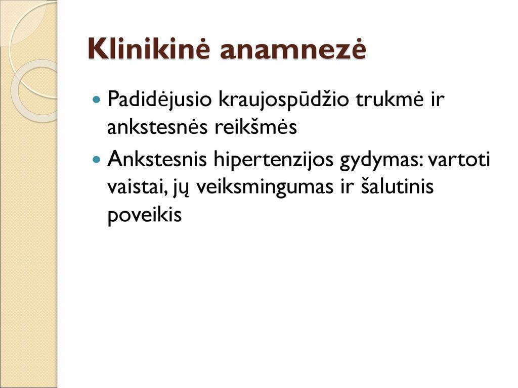 Arterinė hipertenzija (Padidėjęs kraujo spaudimas)   taksi-ag.lt