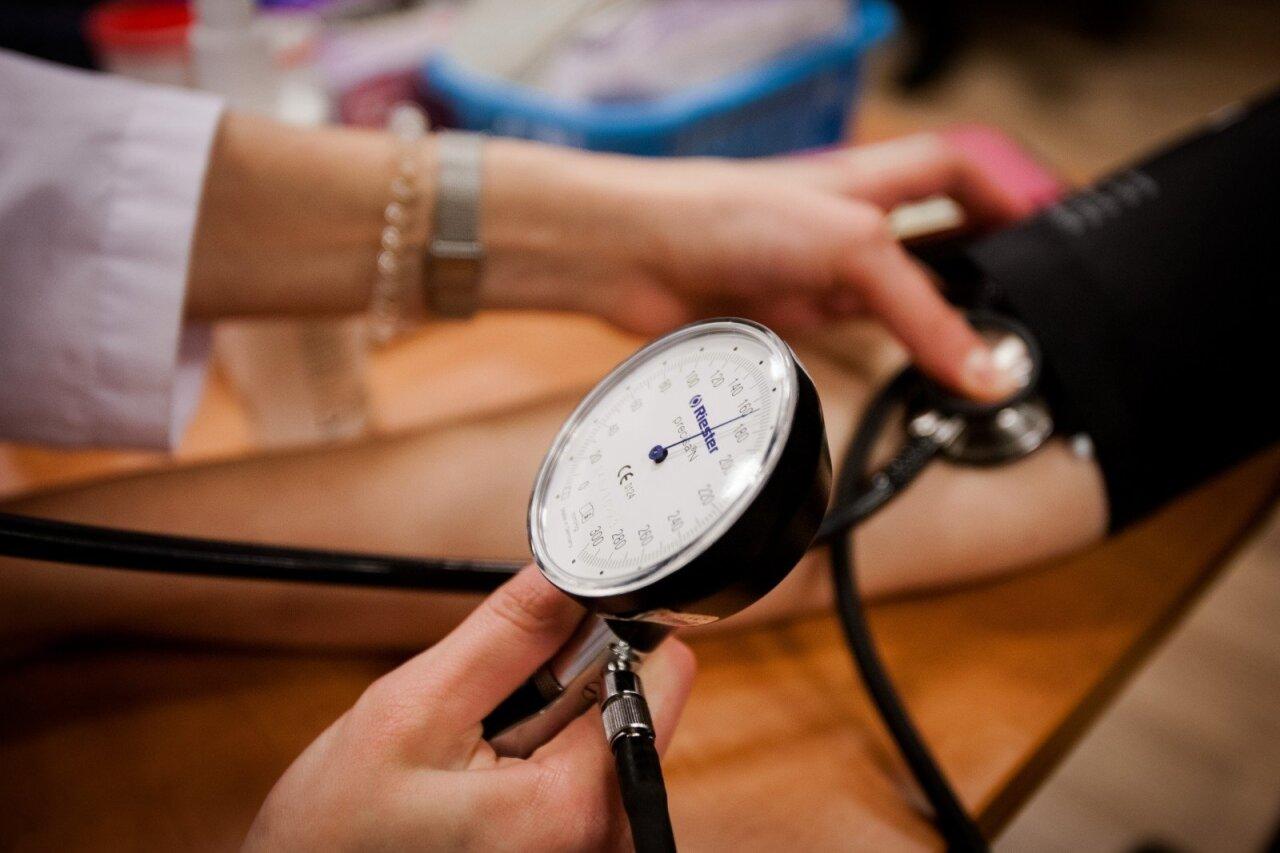 gyvenimo užrašai nuo hipertenzijos