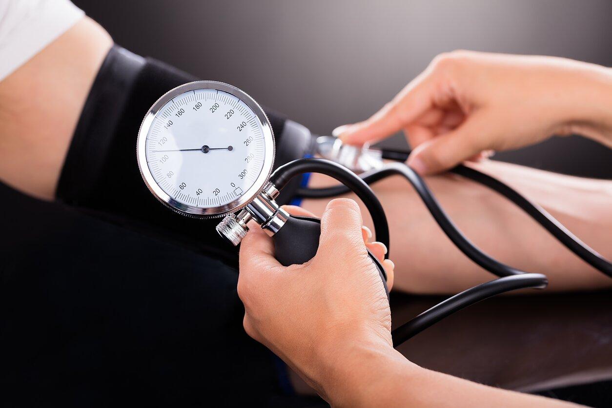 pacientas serga hipertenzija