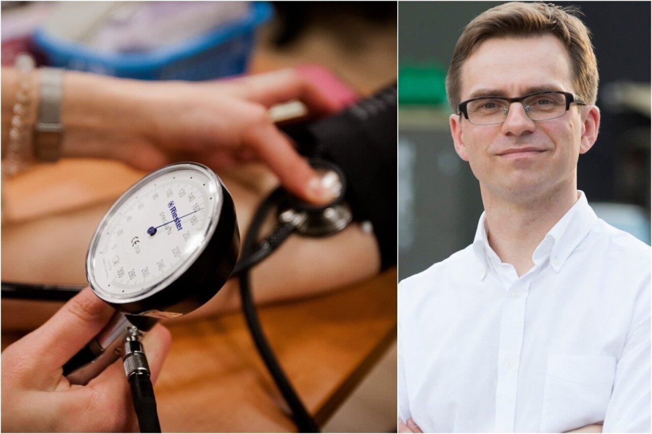 hipertenzija sėdimas gyvenimo būdas