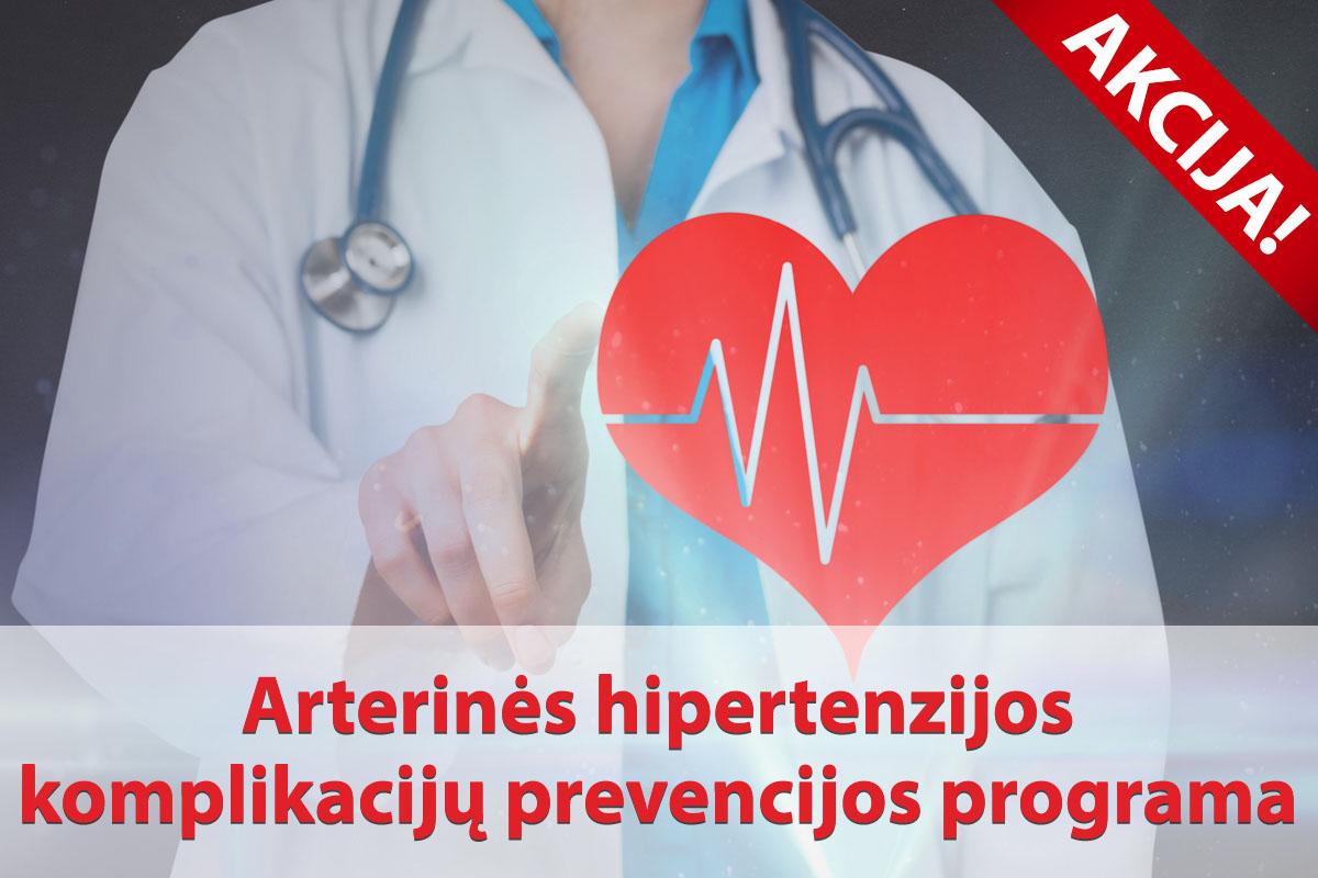 """Hipertenzija – """"nebylioji žudikė"""""""