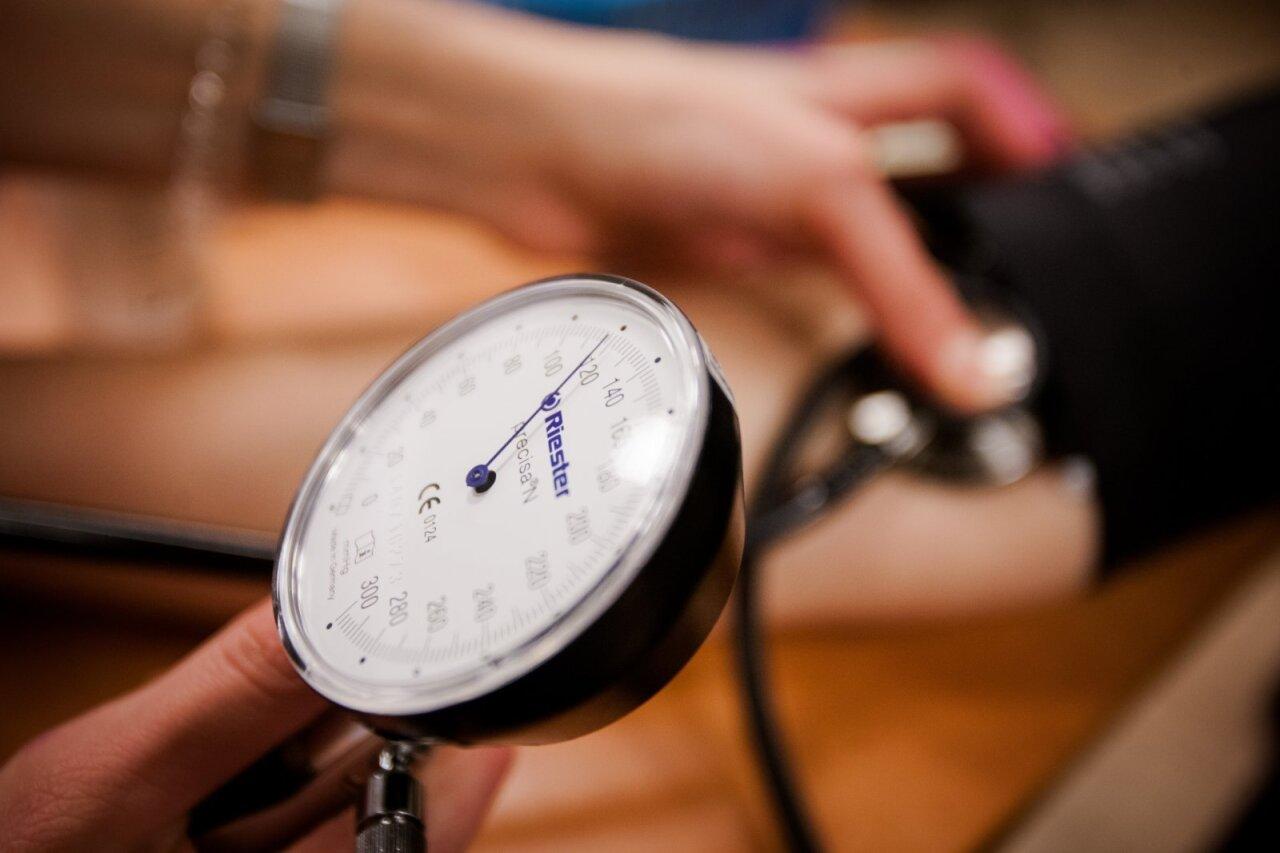 diabeto hipertenzija tachikardija