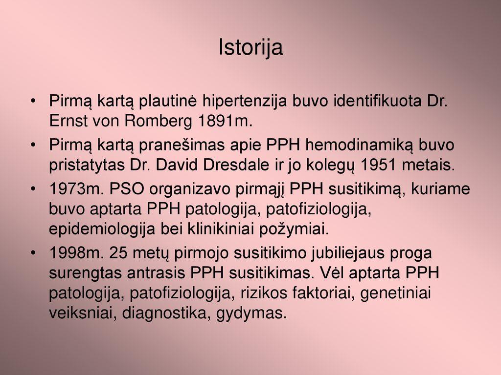 hipertenzija ir genetika