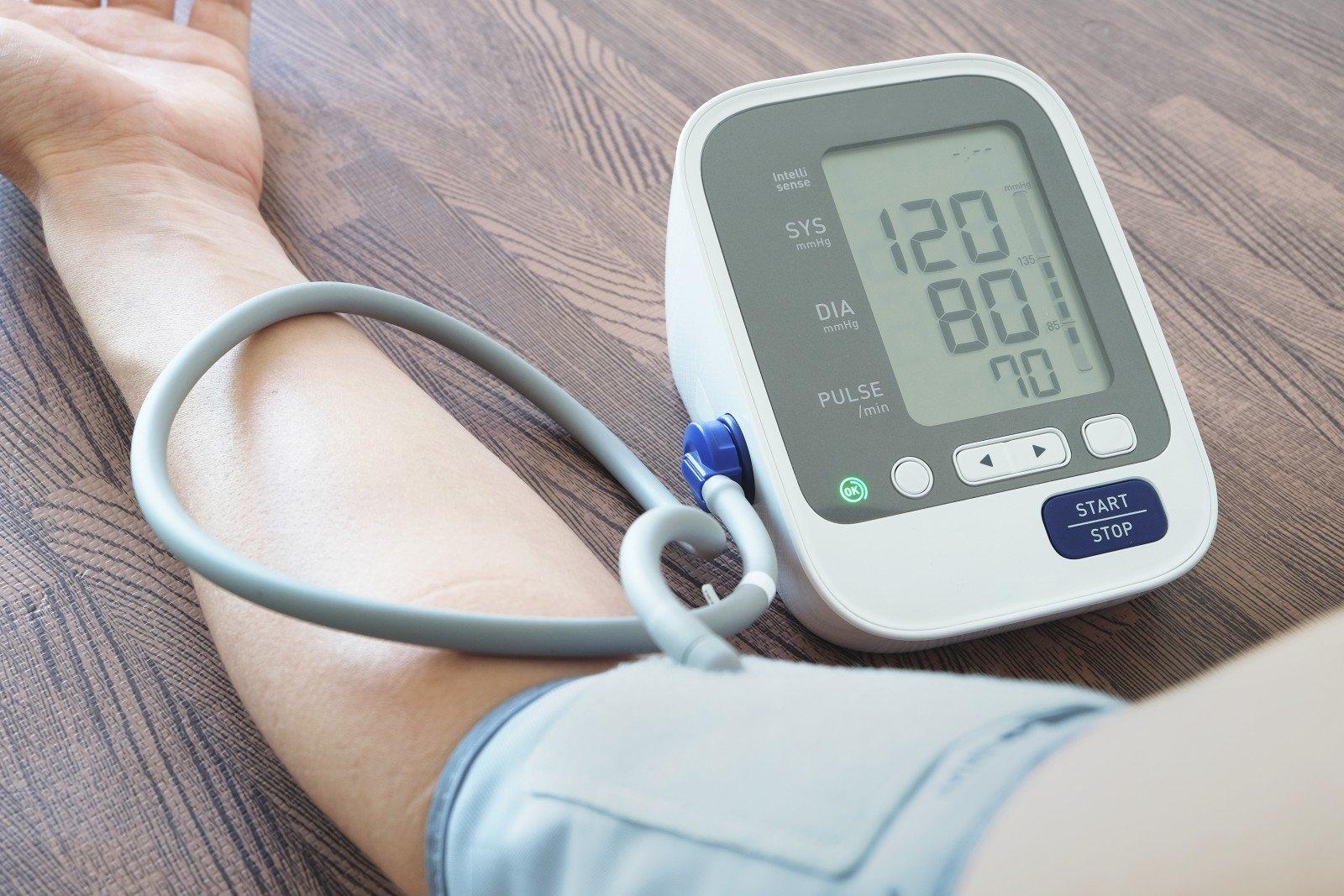 padidėjusi kūno temperatūra su hipertenzija