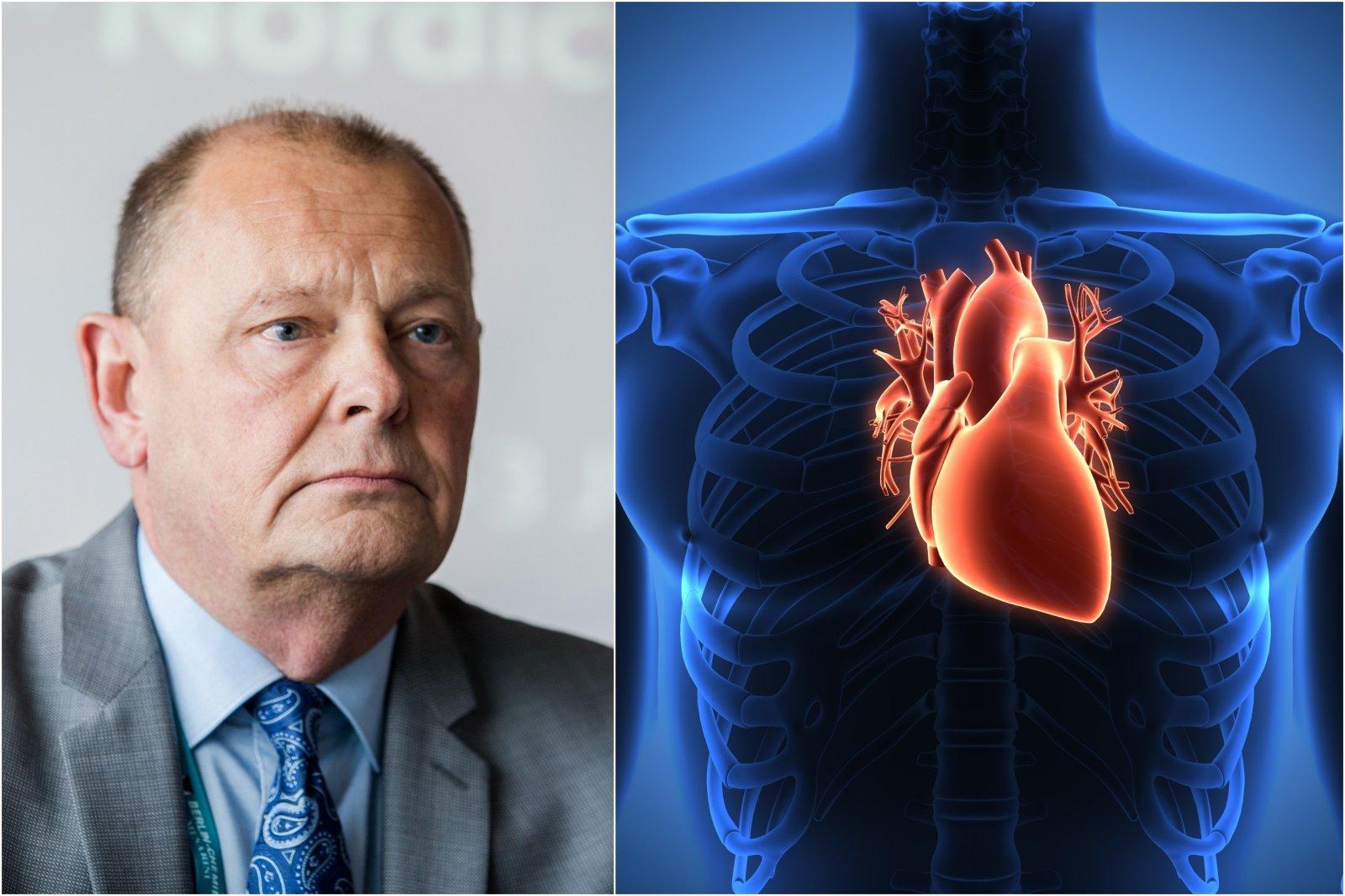 hipertenzijos ligos ir cukrinio diabeto ligos istorija