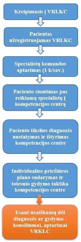 Diagnostikos ir gydymo protokolai
