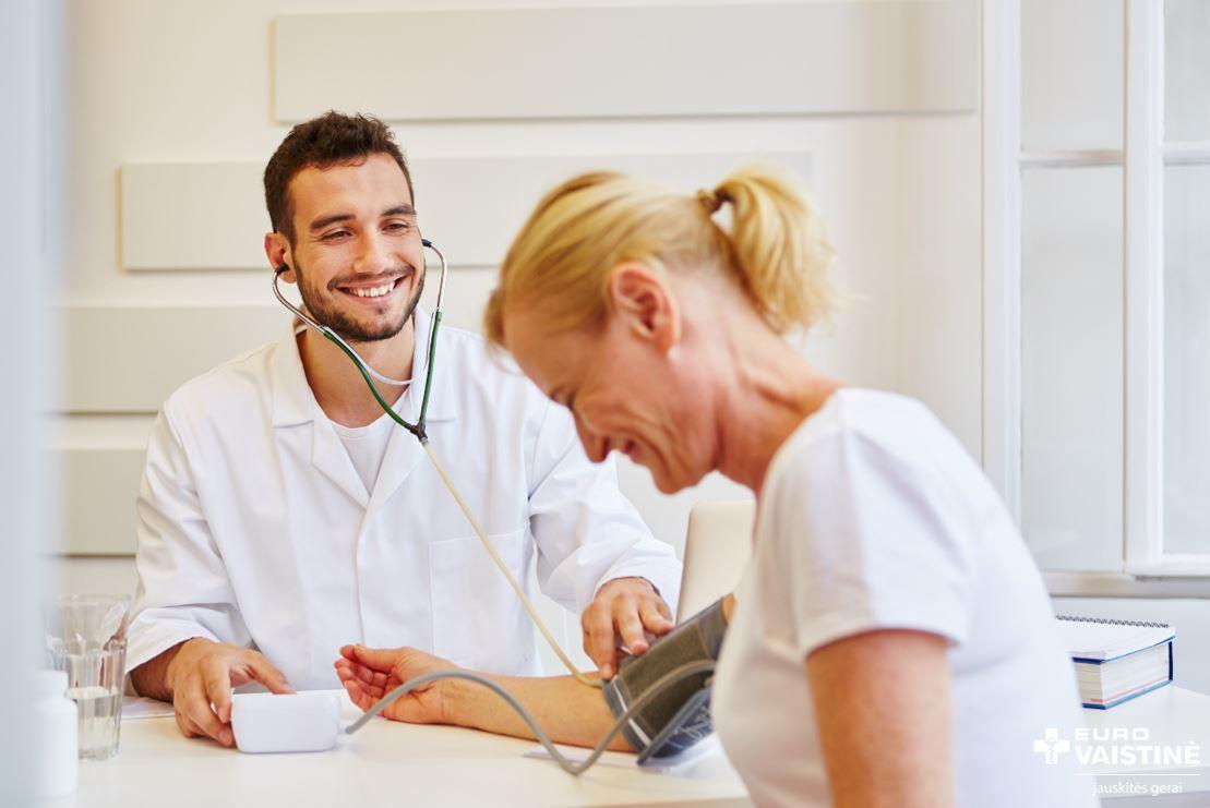 sunki moterų hipertenzija