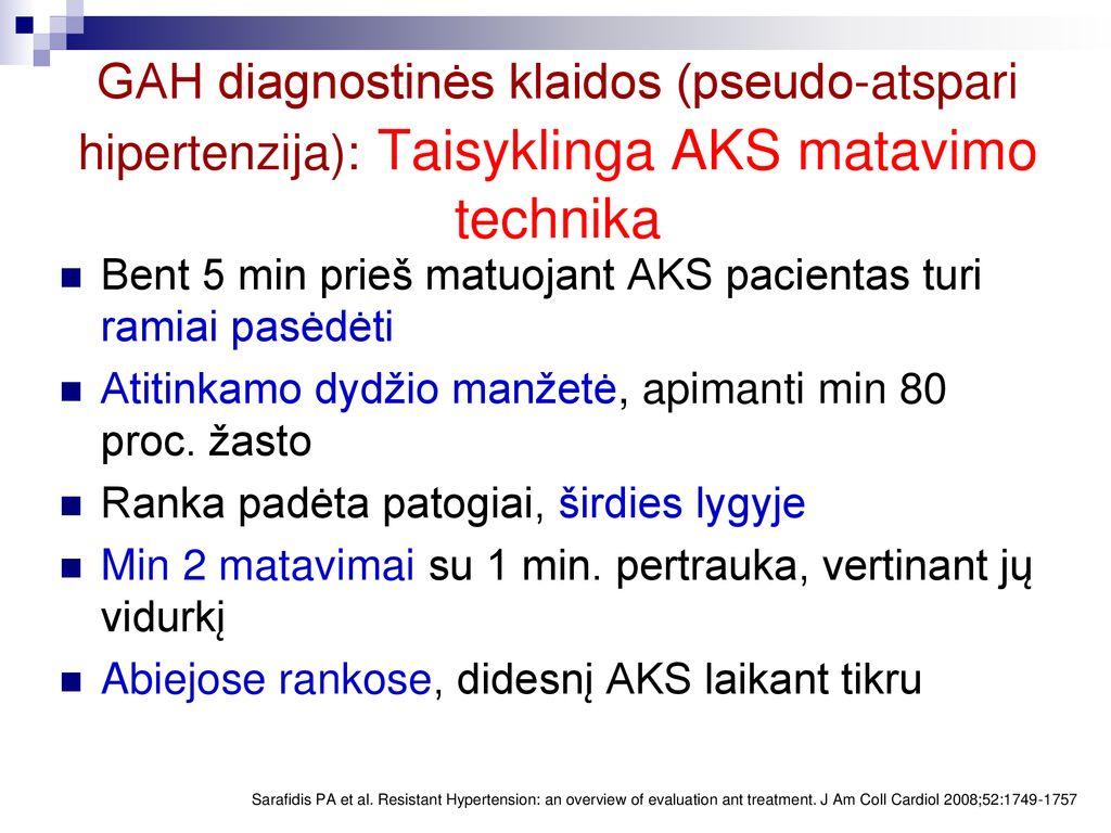 hipertenzija ir skysčių susilaikymas