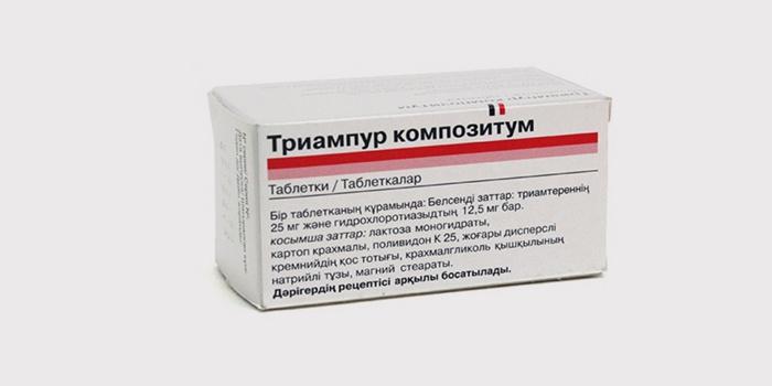 vaistai nuo hipertenzijos ir diuretikai