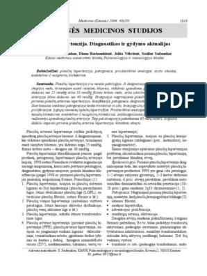 Portinės hipertenzijos komplikacijų šiuolaikiška diferencinė diagnostika ir gydymas monografija (0)