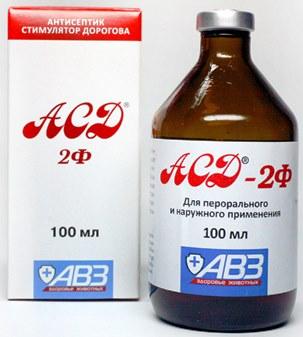 Dozavimo režimas, ASD 2 vartojimas ir gydymas - Ateroma