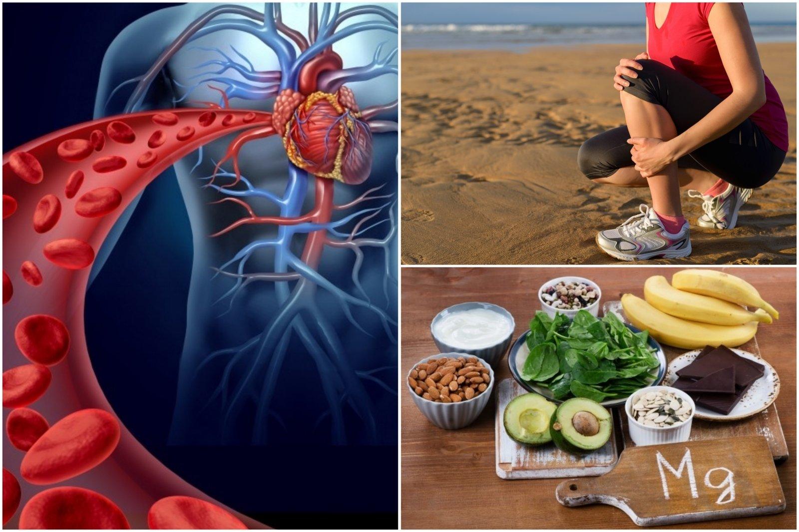 hipertenziją sukelia trūkumas b vitaminai širdies sveikata