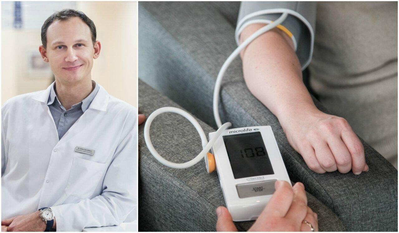 hipertenzija kokios yra pasekmės