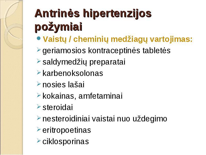 pridėta vaistų nuo hipertenzijos liaudies hipertenzijai gydyti