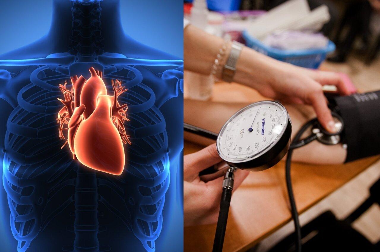 ką daryti su sunkia hipertenzija