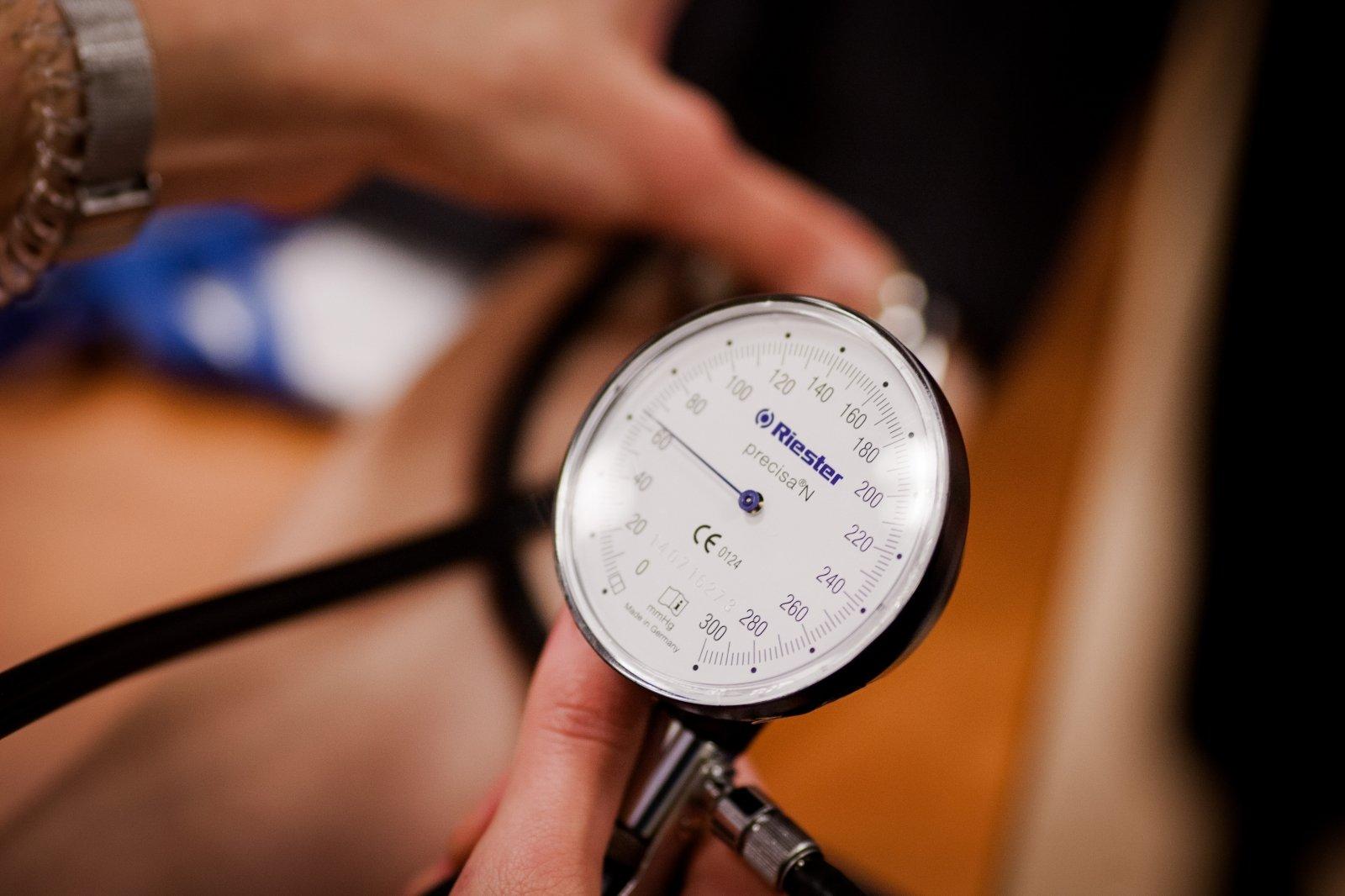 Padidėjęs kraujospūdis (hipertenzija)