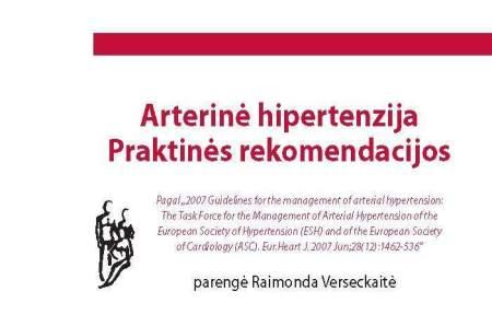 knyga apie hipertenziją
