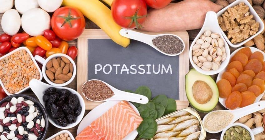 maisto produktai, turintys daug kalio, širdies sveikatai